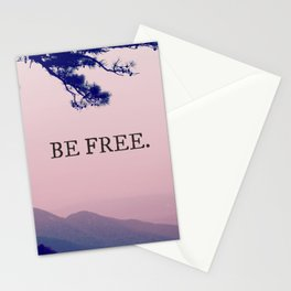 Be Free. Stationery Cards
