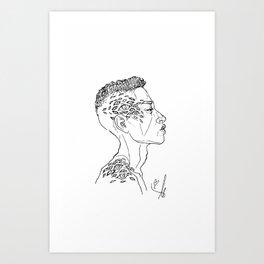 #13 Art Print
