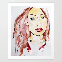 Oriwa Art Print