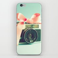 forever young iPhone & iPod Skins featuring Forever young  by Caroline Mint