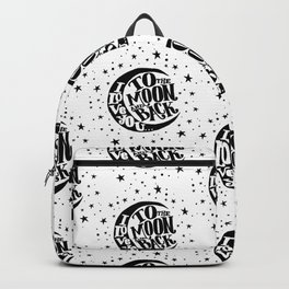 love you to the moon & back Backpack
