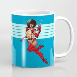 Space Girl Pinup Coffee Mug