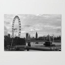 Along The Thames Canvas Print