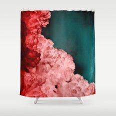 α Spica Shower Curtain