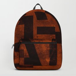 Ale Beer Typography Backpack