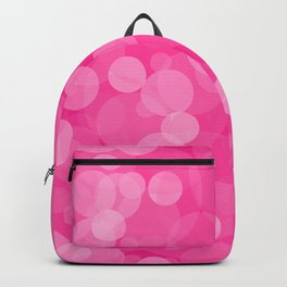 Pink Bubbles 4 Backpack