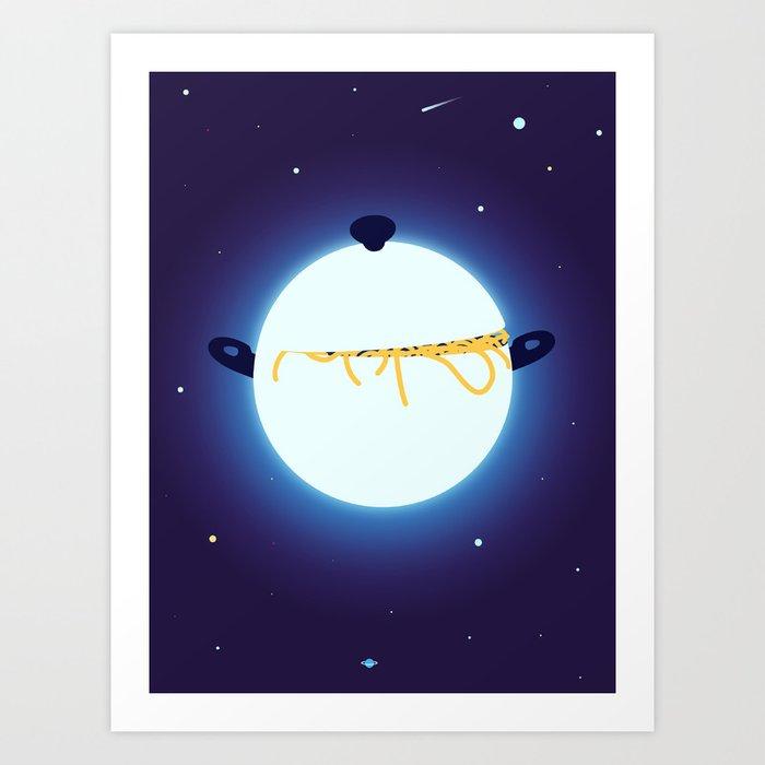 """The Inside of a Neutron Star Looks Spookily Familiar"" by Magoz for Nautilus Art Print"