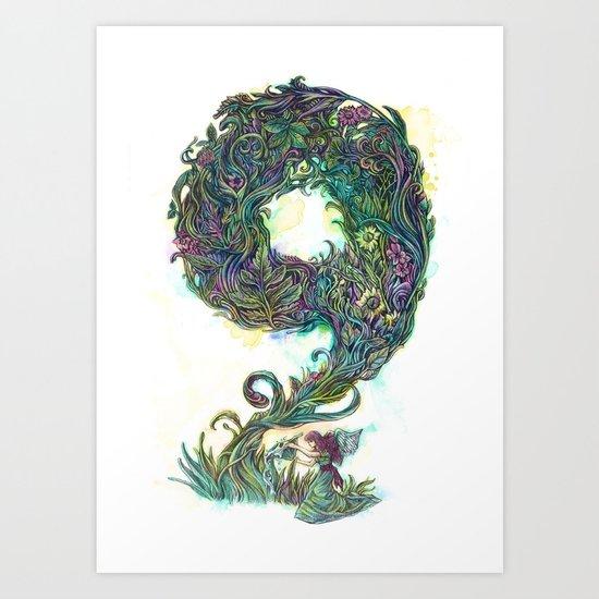 numb9r Art Print