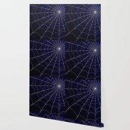 Spiderweb on Midnight Wallpaper