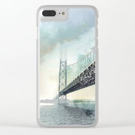 San Francisco, Bay Bridge Clear iPhone Case