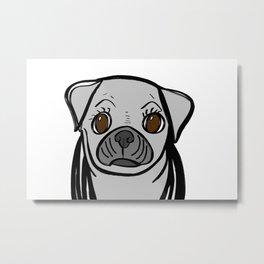 Pugs are us. Metal Print