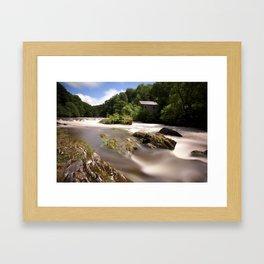 Cenarth Falls Framed Art Print