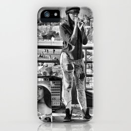 Just busking iPhone Case