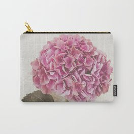 Beautiful Pink Hydrangea Carry-All Pouch