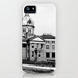 Gulfport, Mississippi Courthouse iPhone Case