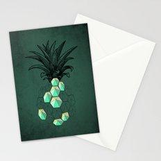 pineapple anatomy 2 Stationery Cards