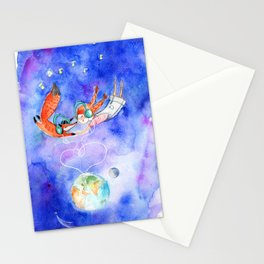 Simon and Chloe - Is there Life Beyond Music? Stationery Cards