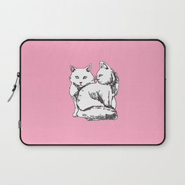 White Maine Coons Cats Laptop Sleeve
