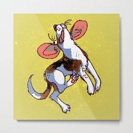 Benni Beagle Metal Print
