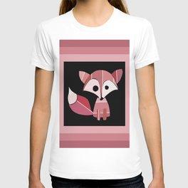 Paint Chip Fox T-shirt