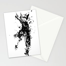 Kayaker in the Fog Stationery Cards