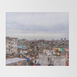 Ciudad de La Habana Throw Blanket