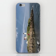 Nubble Lighthouse in Summer iPhone Skin