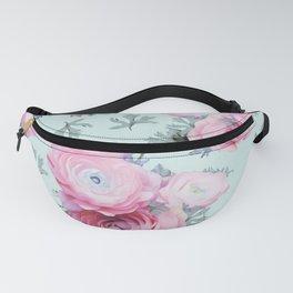 Modern Floral Pastel Fanny Pack