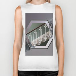 Stairway to Heaven - Hexagon Biker Tank