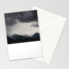 mountain storms  Stationery Cards