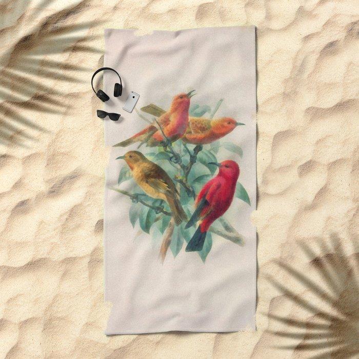 Songbirds Beach Towel