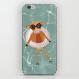 Moo in the Poo..l iPhone Skin