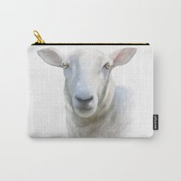 Watercolor Sheep Carry-All Pouch