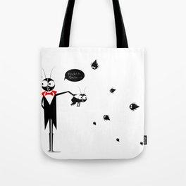 Baby Black Tote Bag