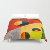 balance Duvet Covers featuring BALANCE by THE USUAL DESIGNERS