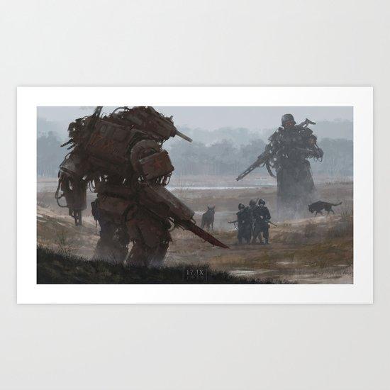 17.IX Art Print