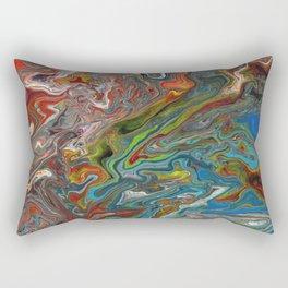 Abstract Oil Painting 13 Rectangular Pillow