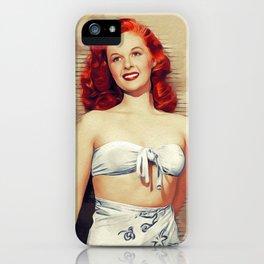 Susan Hayward, Actress iPhone Case