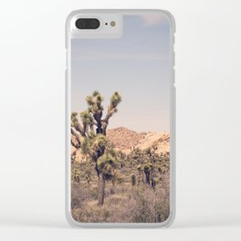 Scenes from Joshua Tree, No. 2 Clear iPhone Case