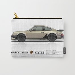 Porsche 1985 911 M491 White Gold Metallic Carry-All Pouch