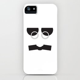 Face Groucho Graphic iPhone Case