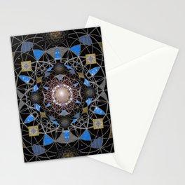Pearl of Cosmic Wisdom Sacred Mandala Print Stationery Cards