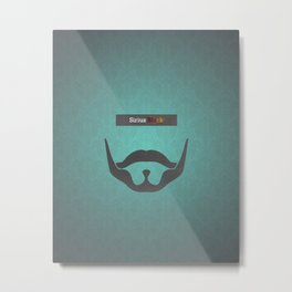 Sirius Black (Famous mustaches and beards) Metal Print