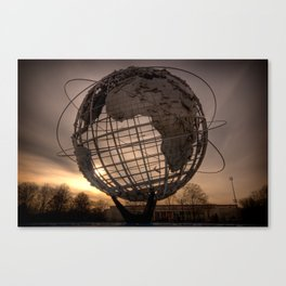 Unisphere NYC Canvas Print