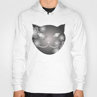 meow Hoodies featuring Meow by ArigigiPixel