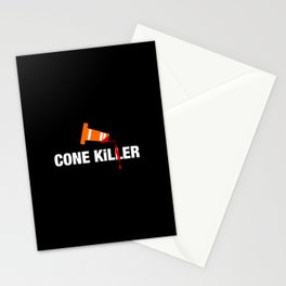 Cone Killer v1 HQvector Stationery Cards