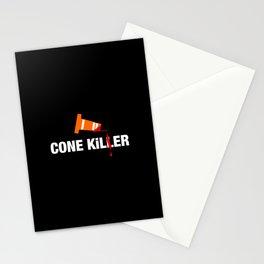 Cone Killer v1 HQvector Stationery Cards