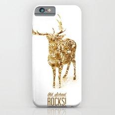 Old School Rocks! Gold Deer Version Slim Case iPhone 6