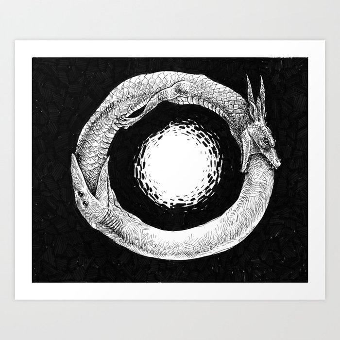Oroborus Art Print