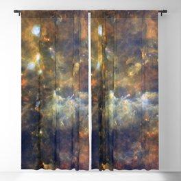 Constellation Vulpecula Little Fox Galaxy Space Blackout Curtain